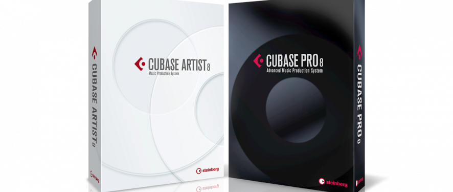 Cubase 8 Family Packshot 2b