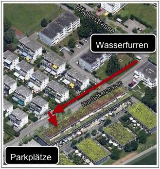 Zugang Hurdackerstrasse
